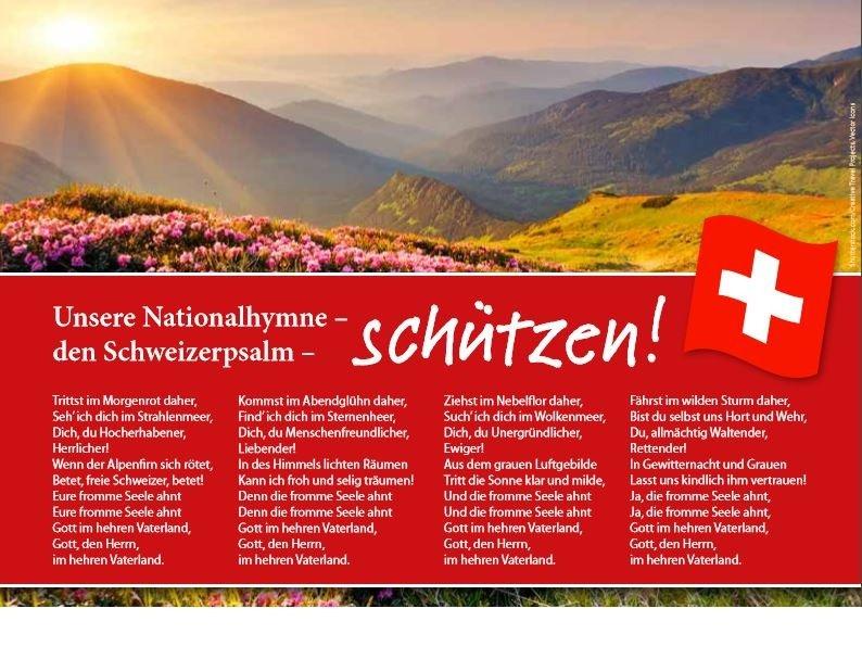 Schweizerpsalm schützen!