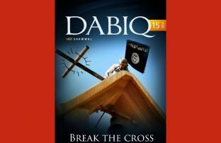 Cover IS-Zeitschrift Diabiq_Ausgabe Break the cross