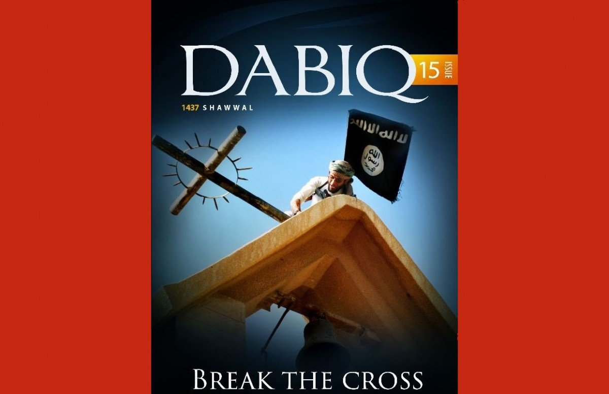 L'Etat islamique veut « briser la croix »