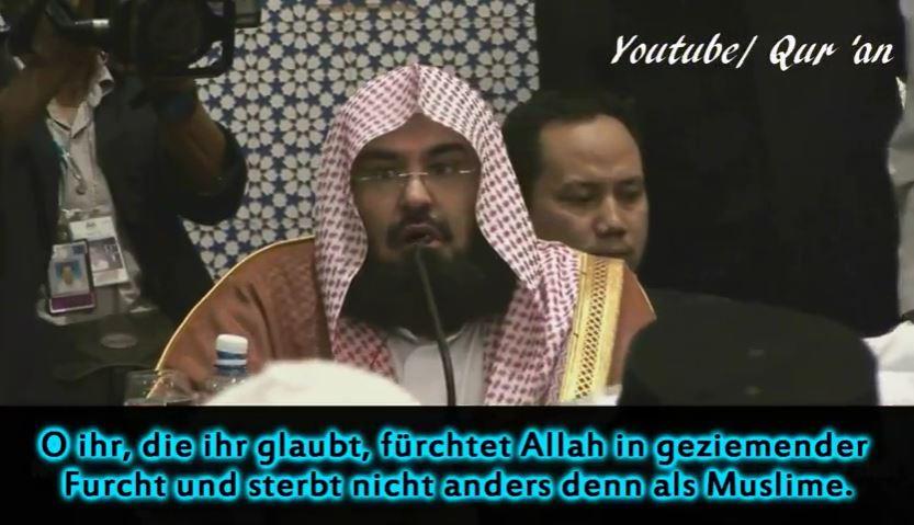 """Imam betet für Sieg über die """"bösartigen Christen"""""""