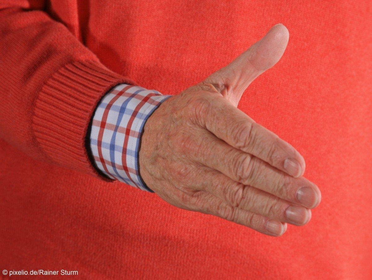 IZRS unterstützt Handschlagverweigerung