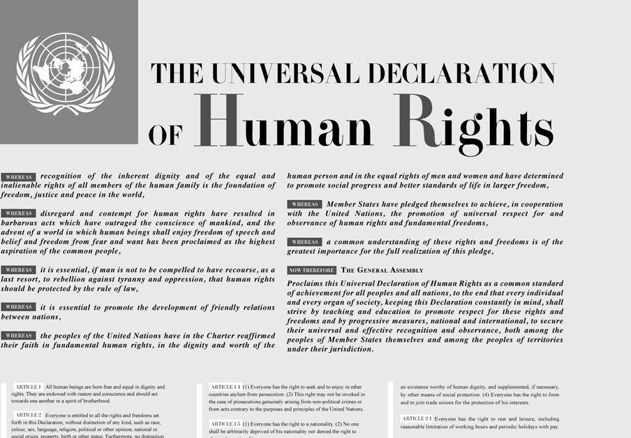 Menschenrechtscharta: jetzt in mehr als 500 Sprachen