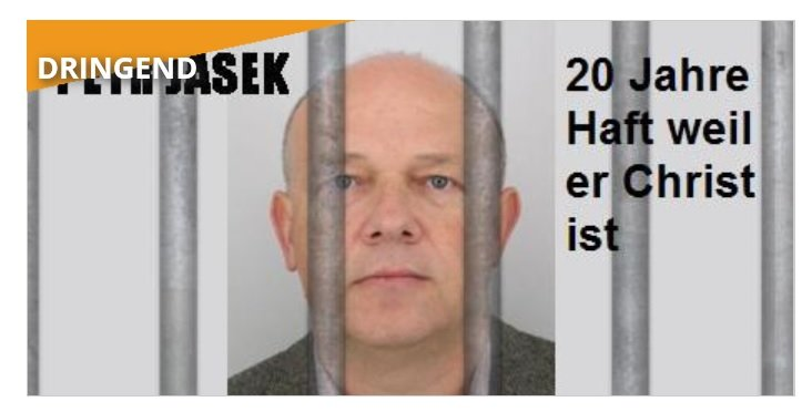 Freiheit für Petr Jašek!