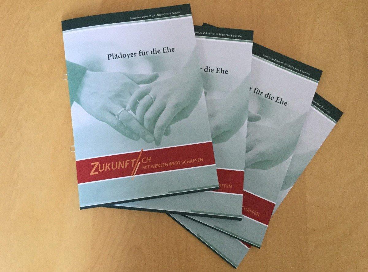 Neue Broschüre: Für die Ehe