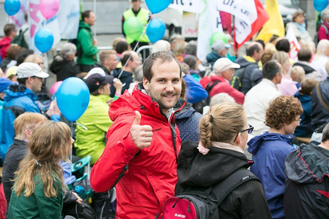 """Marsch fürs Läbe 2017: """"Bäte fürs Läbe"""""""